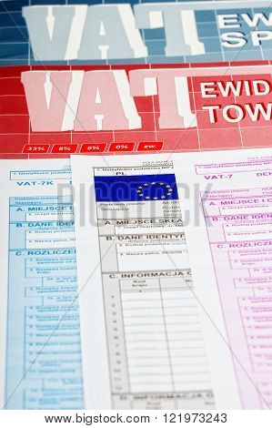 Vat tax - Polish documents to account for VAT