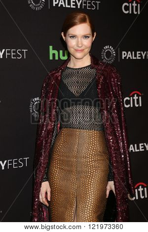 LOS ANGELES - MAR 15:  Darby Stancfield at the PaleyFest Los Angeles - Scandal at the Dolby Theater on March 15, 2016 in Los Angeles, CA