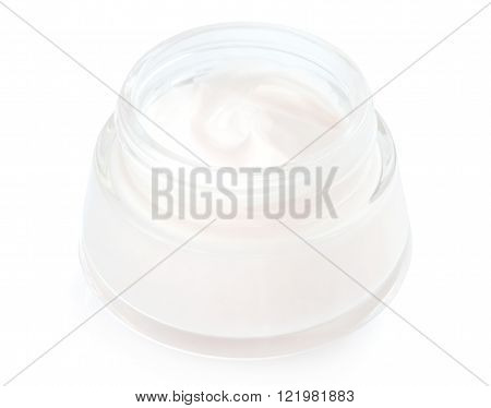 Cosmetic cream isolated on a white background