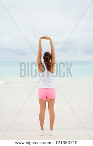 Stretching Arms Exercise For Relaxing
