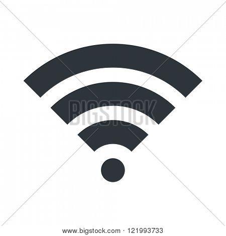 WIFI icon. Signal symbol. Vector Illustration design. EPS 10.