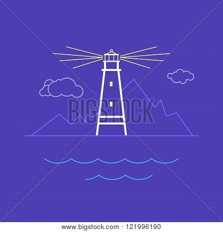 Lighthouse, Line Style Design