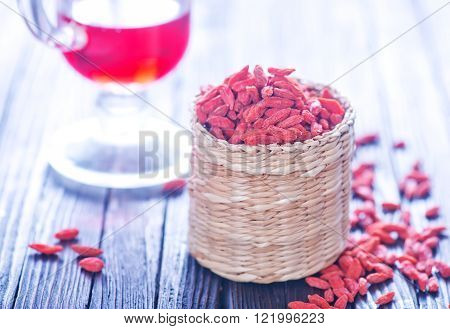 Dry Red Berries
