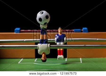 football players foosball game toy ball table