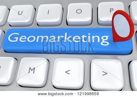 Geomarketing Concept