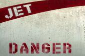 Постер, плакат: Jet опасность