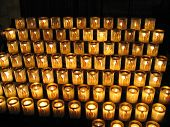 image of damme  - church candles originates from notre - JPG