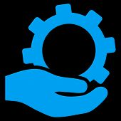 ������, ������: Service Flat Vector Symbol