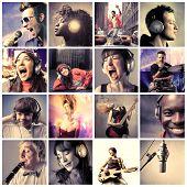 Постер, плакат: Музыкальный образ жизни