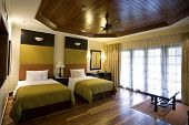 picture of motel  - contemporary hotel room - JPG
