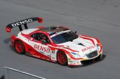 SEPANG, MALAYSIA - JUNE 21: The Denso Dunlop Sard SC430 (39) in action during the Super GT Internati