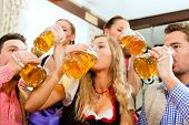 picture of lederhosen  - Inn or pub in Bavaria  - JPG