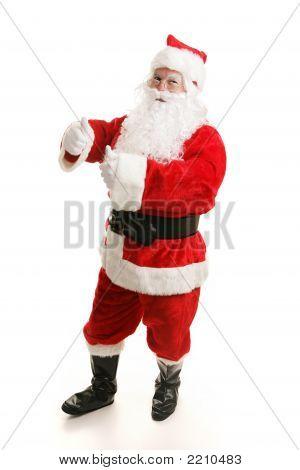 Dancing Santa Boogies