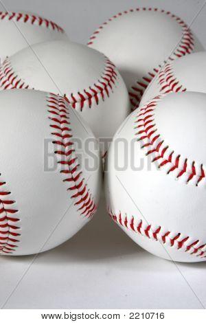 Six Baseballs