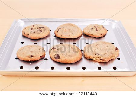 Baking Chocolate Chip Cookies