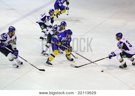 Prime Euro Hockey Challenge Game Between Ukraine And Kazakhstan