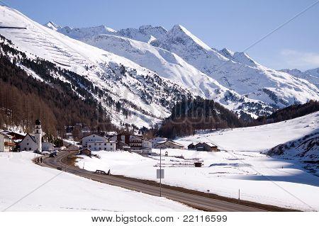 Small village and ski resort in Tirol