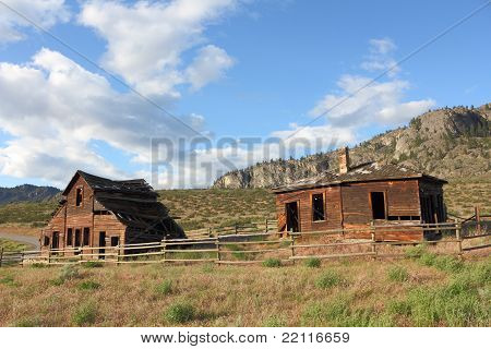 Historic Haynes Ranch Buildings, Osoyoos, BC.