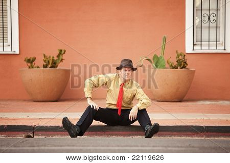Businessman On Street