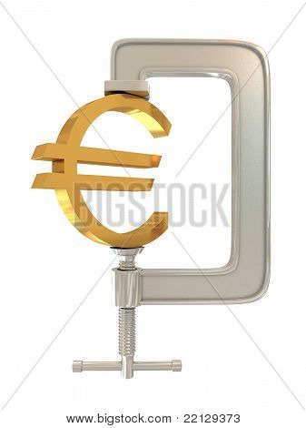 G clamp and Euro sign