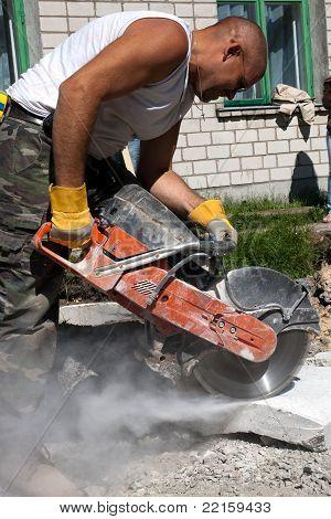Concrete Circular Saw