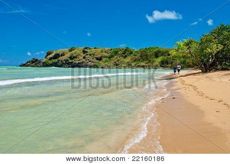 Couple At Hidden Beach, Puerto Rico