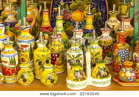 Oil and vinegar containers