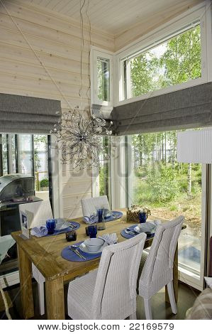 Scandinavian House Interior