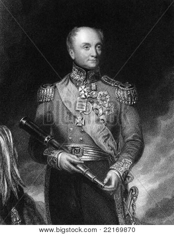 Rowland Hill (1772-1842). Engraved by W.H.Mote and published in The National Portrait Gallery Of Illustrious And Eminent Personages encyclopedia, United Kingdom, 1833.