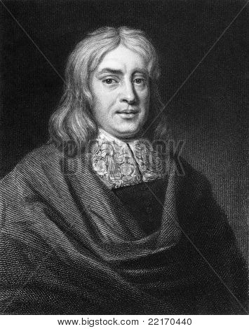 Thomas Sydenham (1624-1689). Engraved by E.Scriven and published in London The Gallery Of Portraits With Memoirs encyclopedia, United Kingdom, 1833.