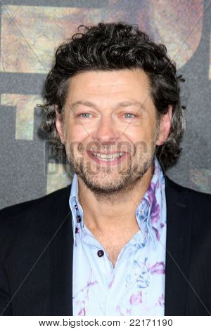 "LOS ANGELES - JUL 28:  Andy Serkis arriving at the ""Rise of the Planet of the Apes"" Los Angeles Premiere at Grauman's Chinese Theater on July 28, 2011 in Los Angeles, CA"
