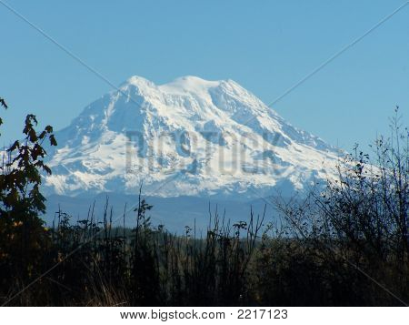 Mt Rainier from the area near Yelm