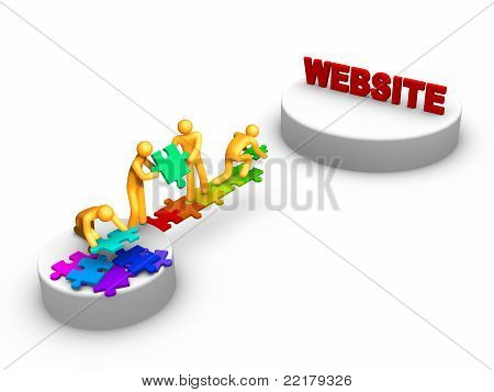 Team Work For Website