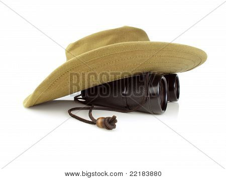 Hat With Binoculars