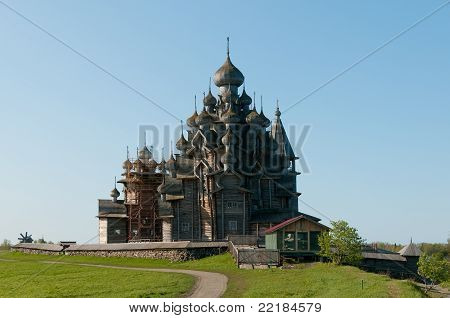 Sacred Place. Beautiful Kizhi Island
