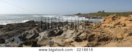 Panorama Of California Coast