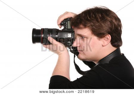 Man With Photocamera