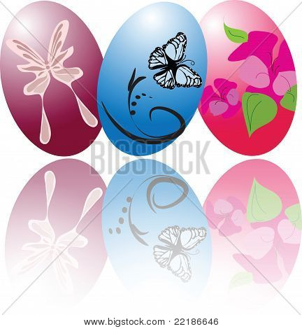 Easter Eggs Reflection