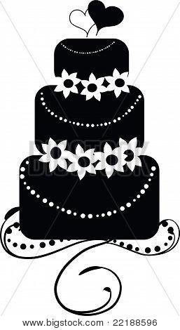 Wedding Cake - Round