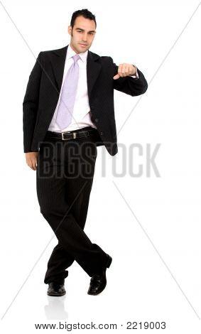 Business Man Display