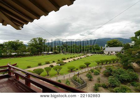 Mstsumoto Castle Gardens