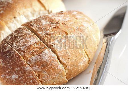 Sliced Cumin Breakfast Rolls