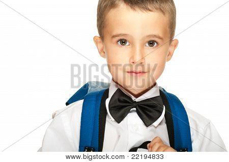 Portrait Of Elementary School Boy