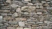 Постер, плакат: Древняя каменная стена