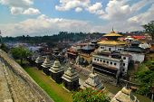 stock photo of tantric  - Picture of the Pashupatinath in Kathmandu Nepal - JPG
