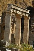 Ancient Ruins In Ephesus poster