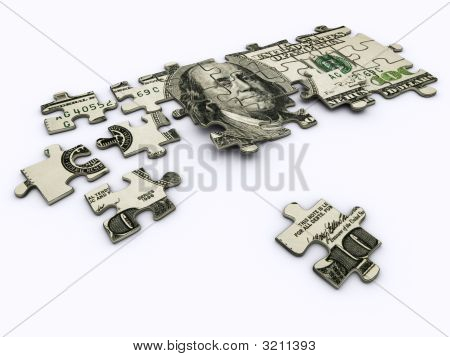 Dollar Jigsaw Puzzle
