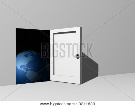 Door Towards Earth