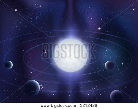 Blue Dwarf Star System