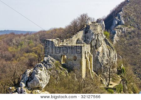 Kalnik Mountain Fortress On Cliff